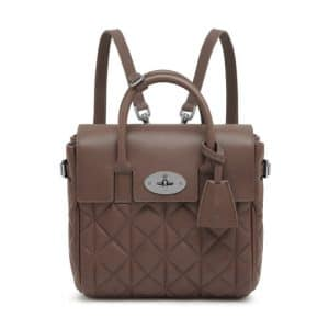 Mulberry Taupe Quilted Cara Delevingne Mini Bag