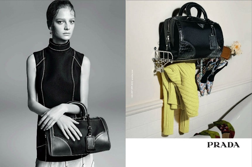 Fashion patterns 2017 - Prada Spring Summer 2015 Ad Campaign Features Full Array