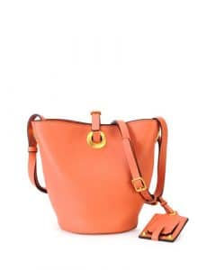 Valentino Coral Eye On You Bucket Bag