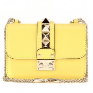 Valentino Rockstud Lock Mini Flap Bag 1