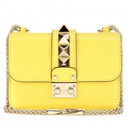 c4f201279a Valentino Rockstud Lock Mini Flap Bag Reference Guide | Spotted Fashion