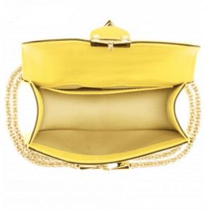 Valentino Rockstud Lock Mini Flap Bag 3
