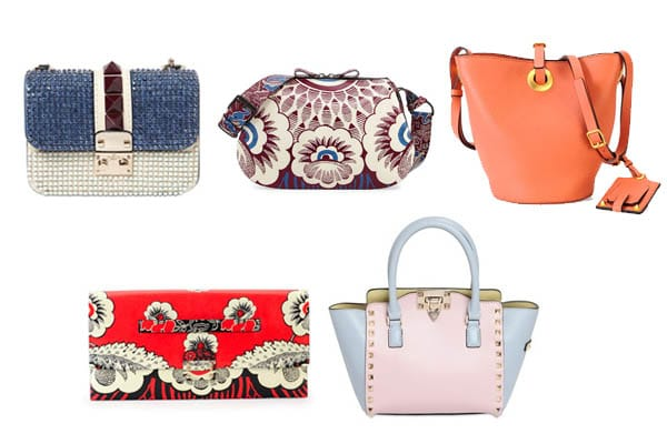 70528523592d Valentino Spring   Summer 2015 Bag Collection Featuring Tropical Prints