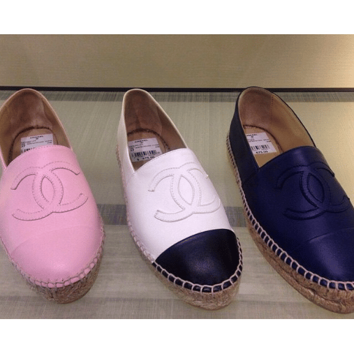 Chanel Espadrilles for Spring 2015 include Tie Dye Prints ...