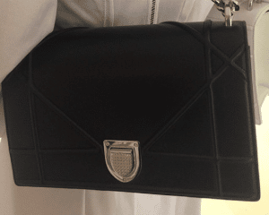 Dior Black Diorama Flap Bag 2
