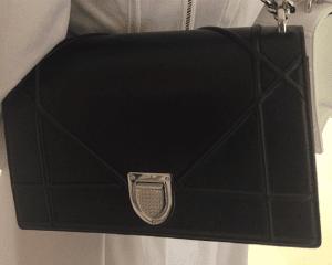 Dior Black Diorama Flap Bag 2