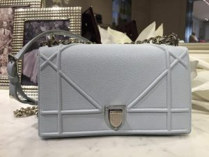 Dior Grey Diorama Flap Bag