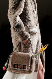 Fendi Beige Fur Baguette Bag 2 - Fall 2015 Runway