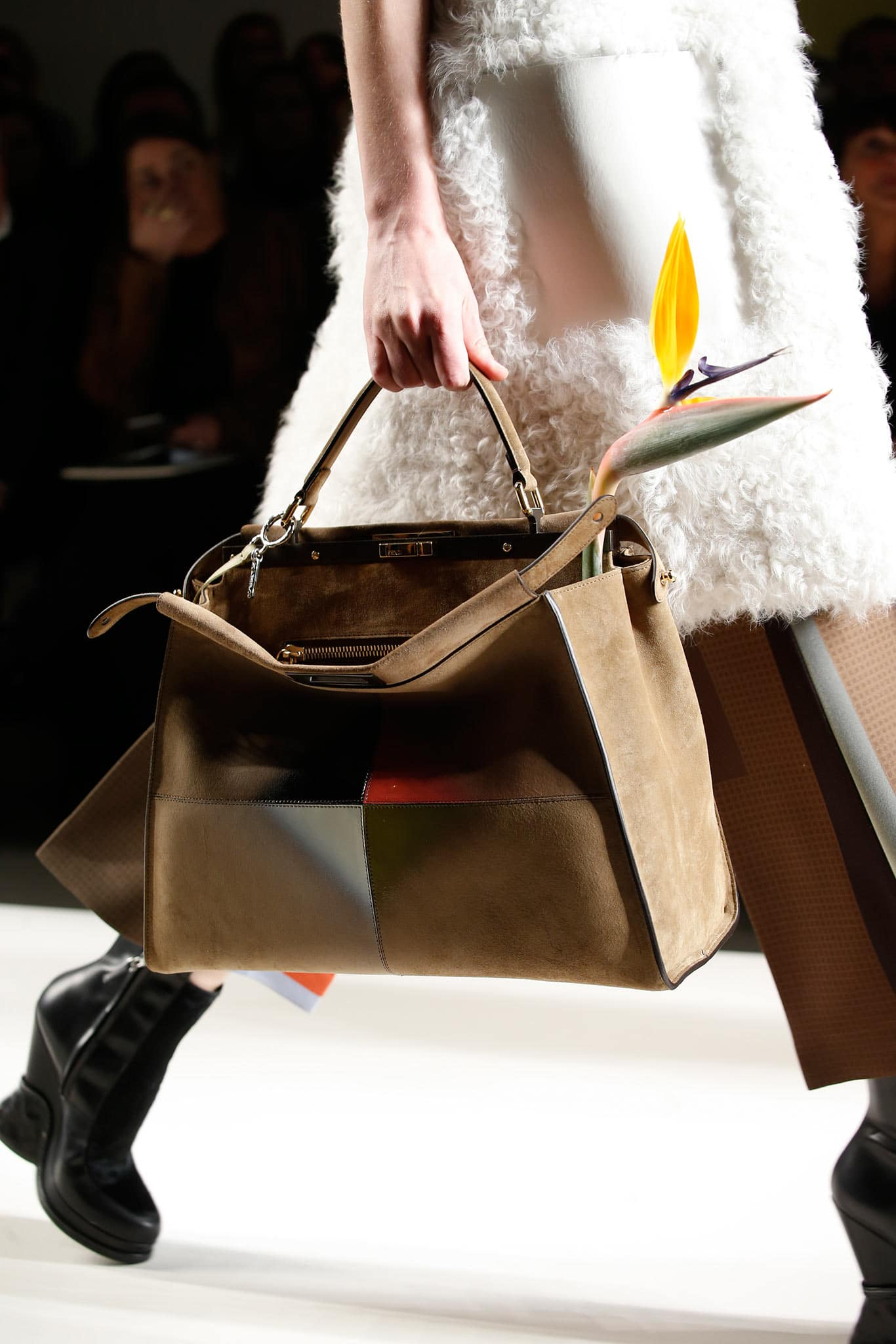 Fendi Fall Winter 2015 Runway Bag Collection Spotted Fashion