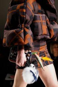 Fendi Multicolor Embellished Mini Baguette Bag - Fall 2015 Runway