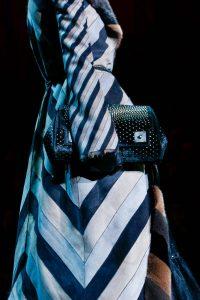 Marc Jacobs Black Studded Clutch Bag 2 - Fall 2015