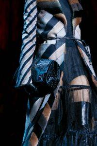 Marc Jacobs Black Studded Clutch Bag - Fall 2015
