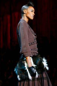 Marc Jacobs Black/White Fur Clutch Bag 2 - Fall 2015