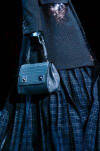 Marc Jacobs Blue Crocodile Bag - Fall 2015