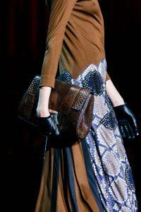 Marc Jacobs Brown Clutch Bag - Fall 2015