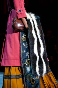 Marc Jacobs Brown Crocodile Clutch Bag - Fall 2015