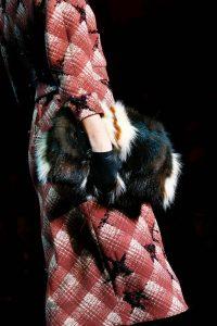 Marc Jacobs Brown/Black/White Fur Clutch Bag - Fall 2015