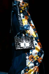 Marc Jacobs Silver Python Embellished Bag - Fall 2015
