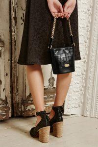 Mulberry Black Crocodile Mini Jamie Bucket Bag 2 - Fall 2015