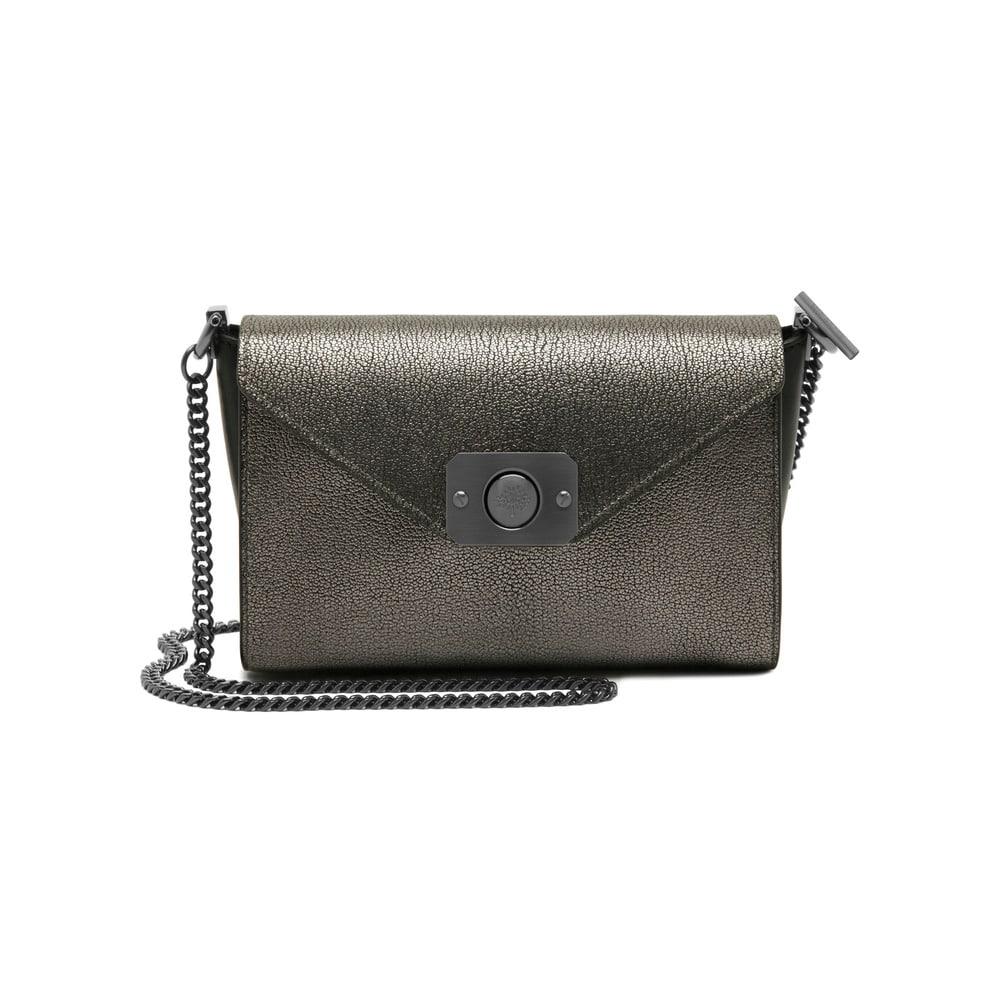 af8d22c595df Mulberry Dark Silver Metallic Black Small Delphie Bag