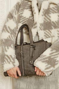 Mulberry Grey Crocodile Roxette Bag - Fall 2015