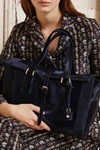 Mulberry Midnight Blue Calf Hair Bucket Bag - Fall 2015