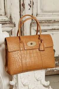 Mulberry Oak Crocodile Bayswater Bag - Fall 2015