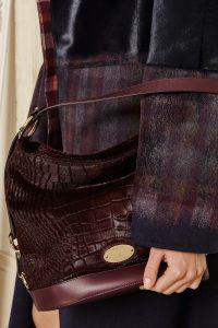 Mulberry Oxblood Crocodile Jamie Bucket Bag - Fall 2015