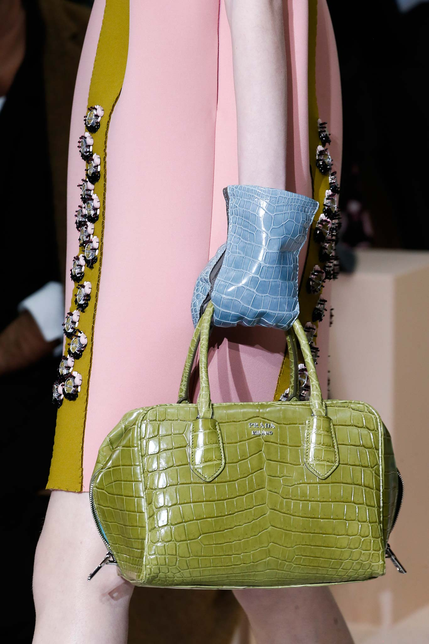 cost of prada wallet - Prada Fall/Winter 2015 Runway Bag Collection Featuring Pastel ...