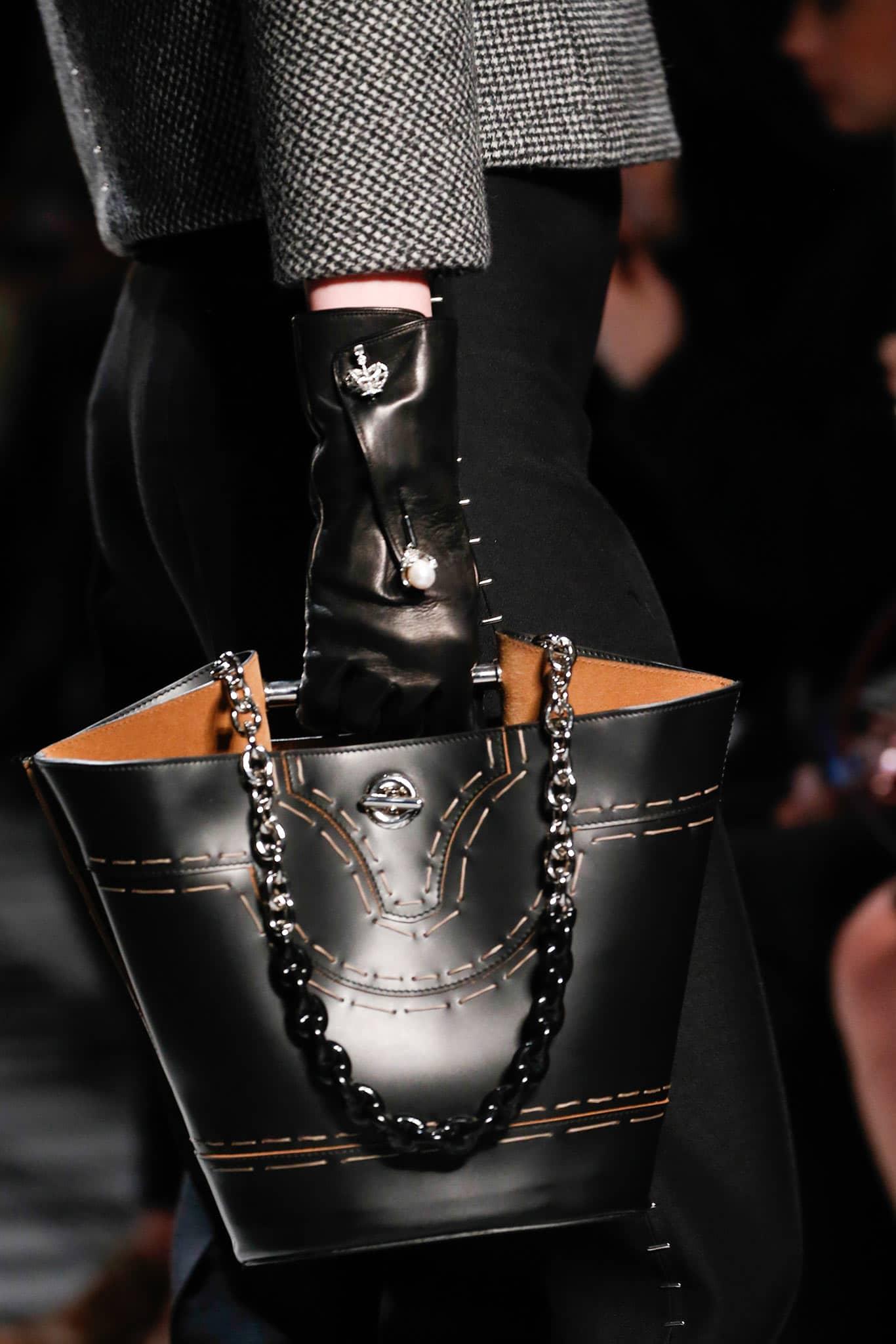 2b146bb2f08b Balenciaga Fall / Winter 2015 Runway Bag Collection featuring Bucket ...