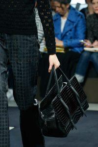 Bottega Veneta Black Crocodile Top Handle Bag 2 - Fall 2015