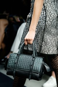 Bottega Veneta Black Intrecciato Top Handle Bag 2 - Fall 2015