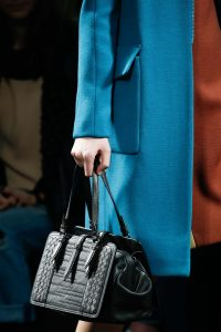 Bottega Veneta Black Intrecciato Top Handle Bag - Fall 2015