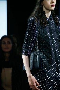 Bottega Veneta Black Shoulder Bag - Fall 2015