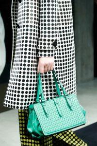 Bottega Veneta Green Intrecciato Top Handle Bag - Fall 2015