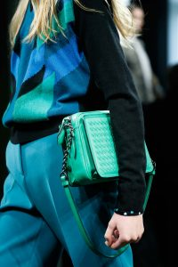 Bottega Veneta Green Shoulder Bag 2 - Fall 2015