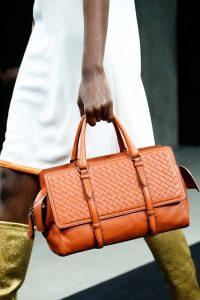 Bottega Veneta Orange Intrecciato Top Handle Bag 2 - Fall 2015