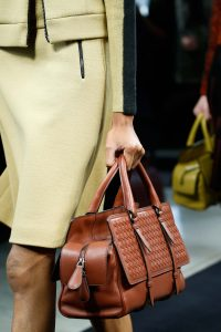 Bottega Veneta Tan Intrecciato Top Handle Bag 2 - Fall 2015