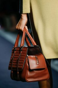 Bottega Veneta Tan Intrecciato Top Handle Bag - Fall 2015