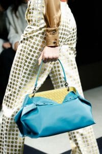 Bottega Veneta Turquoise Tote Bag - Fall 2015