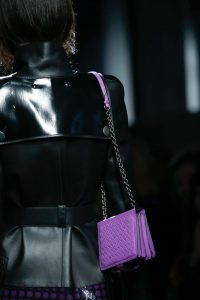 Bottega Veneta Violet Intrecciato Flap Bag 2 - Fall 2015