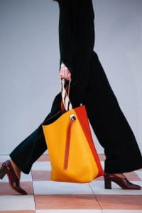 Celine Yellow/Orange Large Tote Bag - Fall 2015 Runway