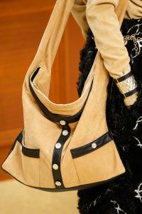 Chanel Beige/Black Girl Bag - Fall 2015 Runway