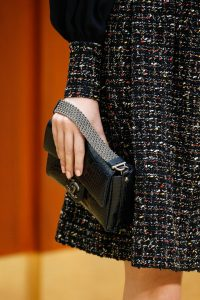 Chanel Black Crocodile Flap Bag 2 - Fall 2015 Runway