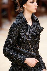 Chanel Black Crocodile Flap Bag - Fall 2015 Runway