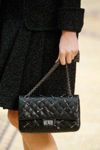 Chanel Black Embellished Reissue Bag - Fall 2015 Runway