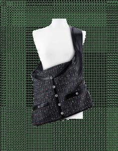 Chanel Black Multicolor Tweed:Lambskin Girl Chanel Bag - Spring 2015 Act 2