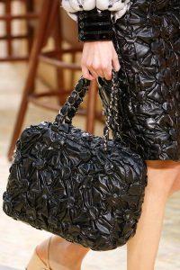 Chanel Black Puffed Bag - Fall 2015 Runway