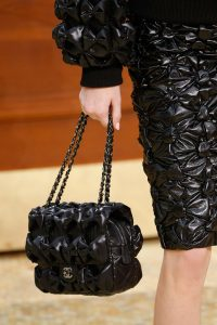 Chanel Black Quilted Puffed Flap Bag 2 - Fall 2015 Runway