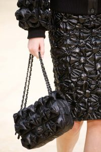 Chanel Black Quilted Puffed Flap Bag - Fall 2015 Runway